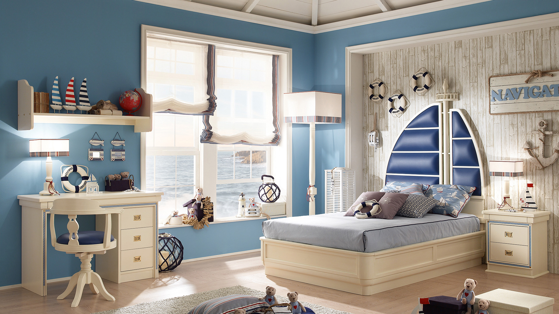 Navy Style Bedroom Proposal 260 Caroti