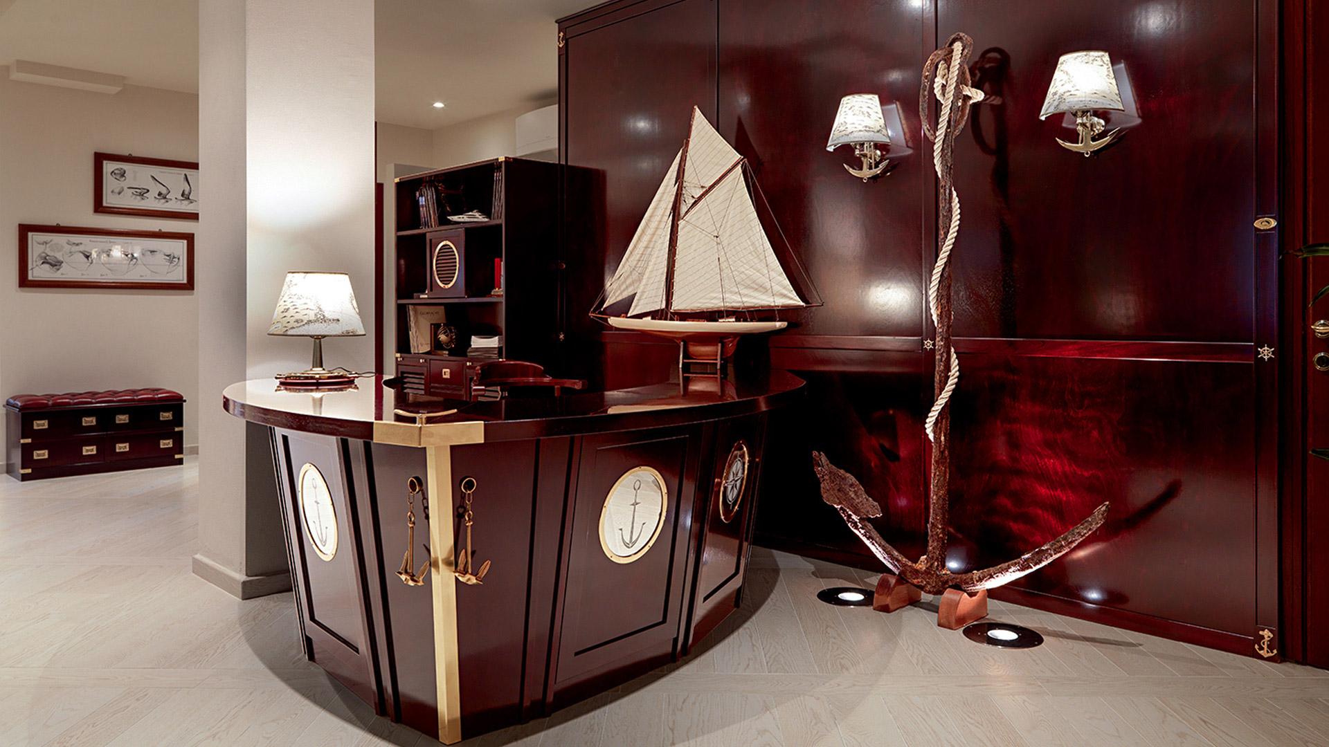L 39 originale stile vecchia marina caroti for Arredamento vecchia marina
