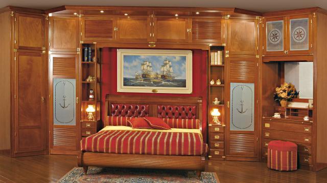 Camerette in stile vecchia marina caroti - Mobili stile vecchia marina ...